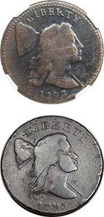 Padula Family Foundation Collection of Early Cents. Images courtesy Heritage Auctions