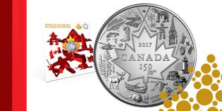 "Royal Canadian Mint's ""Heart Of Our Nation"" Silver Coin Great Way to Celebrate Canada 150"