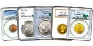 Internet Auction #960 from David Lawrence Rare Coins Open Through Sunday