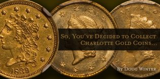 So You've Decided to Collect Charlotte Gold Coins…