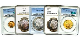 David Lawrence Rare Coins Sunday Auction #952: Big Coins, Big Results