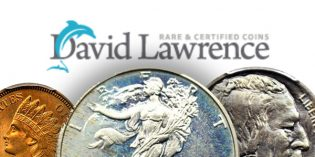 Internet Auction #955 from David Lawrence Rare Coin Now Open