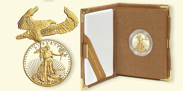 2017 American Eagle Gold Proof Coin from the United States Mint