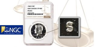 NGC Certifies Dramatic New Kennedy Half Dollar Variety