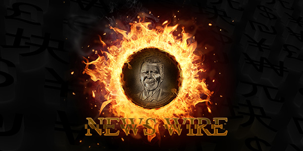 News Wire Graphic Ronald Reagan Dollar