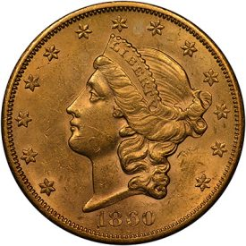 United States $20 Gold Coins