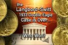 Supreme Court Refuses to Hear Langbord-Switt 1933 Double Eagles Case