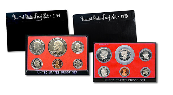 1974 and 1979 Proof Set