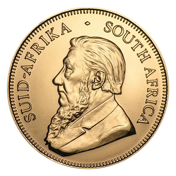 2017 South African Krugerrand Gold Bullion Coin Obverse