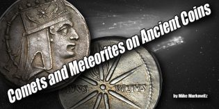 Comets and Meteorites on Ancient Coins