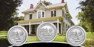 2017 Frederick Douglass America the Beautiful Quarters 3-Coin Set Available April 24