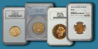 Heritage Offers Hutchinson Collection Half Eagle Gold Coins at Central States Signature Auction