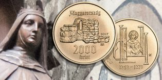 World Coins – St. Margaret Subject of Hungary's First Gold Coin of 2017