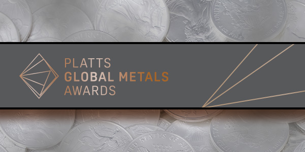 2017 Platts Global Metals Awards Logo - Dillon Gage