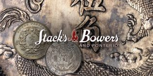 Stack's Bowers Ponterio April World & Chinese Coins & Paper Money Hong Kong Auction Brings Over $5.8 Million