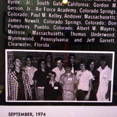Young Numismatist Jeff Garrett attends the ANA Summer Seminar, 1974. Image courtesy Jeff Garrett