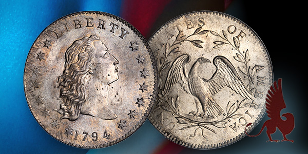 1794 Dollar Stack's Bowers