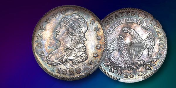 1820 Proof Quarter - Heritage Auctions