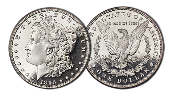 1895 Morgan Dollar Proof Coin - Heritage Auctions