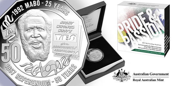 Royal Australian Mint 2017 National Reconciliation 50 cent Coin