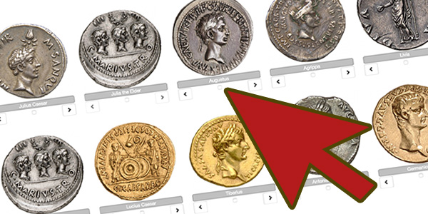 American Numismatic Society's OCRE Roman Coins database