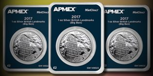 APMEX World Coins – New Landmarks of Britain Series Brings London to Life