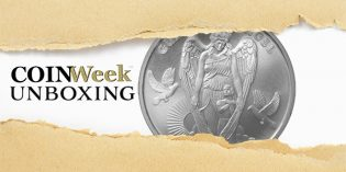 CoinWeek Unboxing: 2017 Niue Guardian Angel Silver Coin – Gainesville Coins Exclusive