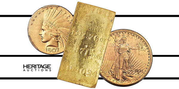 Heritage Auctions Gold Coins