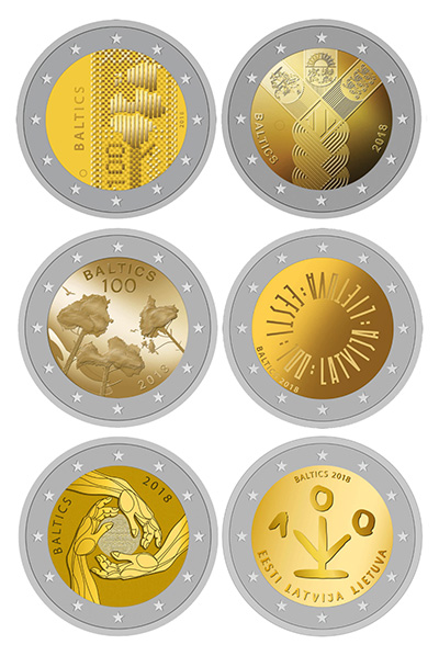 2017 Latvia 2 Euro Design Proposals