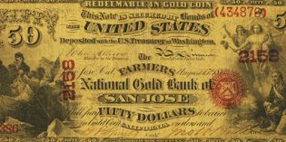 Obscure California National Gold Bank Notes Highlight Heritage US Currency Auction