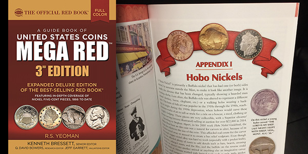 Mega Red 3rd Edition - Page Turned to Appendix I: Hobo Nickels