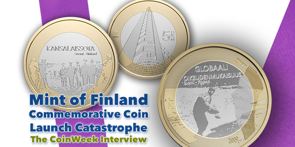 Mint of Finland Cancelled 2017 100 Anniversary of Finland Independence Coin Program