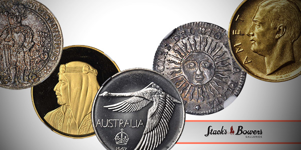 Stack's Bowers March World Coin Auction