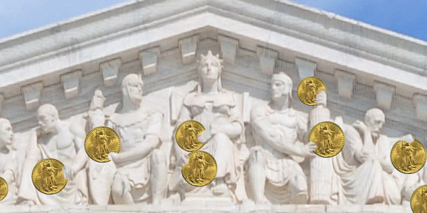 U.S. Supreme Court and 1933 Saint Gaudens Double Eagles