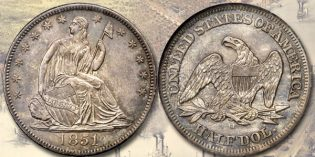 Gem 1851-O Half Dollar at Stack's Bowers June 2017 Baltimore Auction