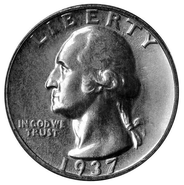 1937 Washington Quarter Proof
