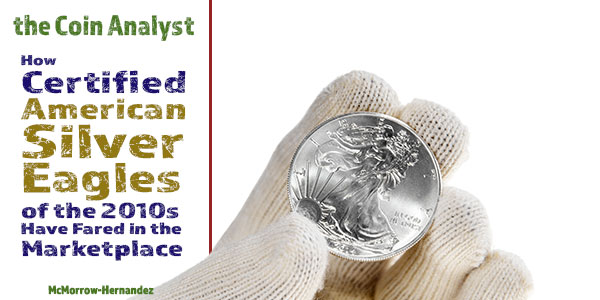 American Silver Eagle Performance in the 2010s