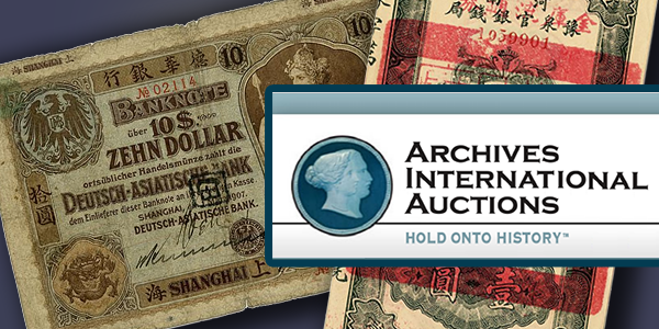 Archives International Auctions - June 2017 Sale