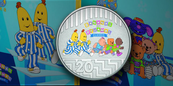 Bananas in Pyjamas 2017 Australian Commemorative Coin