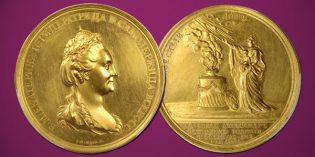 Stack's Bowers: Massive Alexander I Russian Gold Medal at ANA Auction