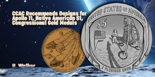 CCAC Recommends Designs for Apollo 11, Native American $1, Congressional Gold Medals