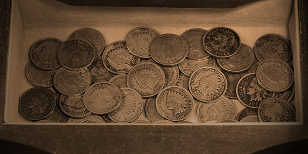 Box of Indian Head Cents
