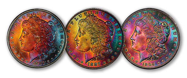 Northern Lights Collection Morgan Dollars - Part V