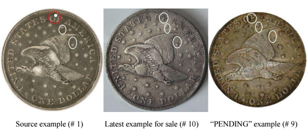 Comparison of source reverse with other items for sale. Images courtesy Jack Young