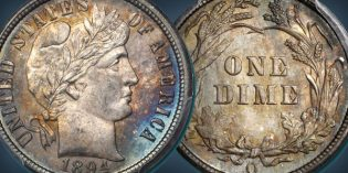 Fossil Creek Gem 1894-O Barber Dime Featured in 2017 ANA Auction