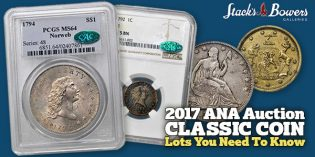 Classic Coins at Stack's Bowers ANA World's Fair of Money Rarities Night Sale: Lots You Need to Know