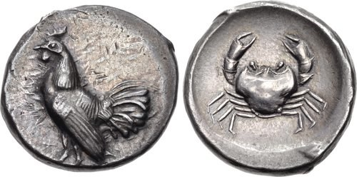 A didrachm from Himera.