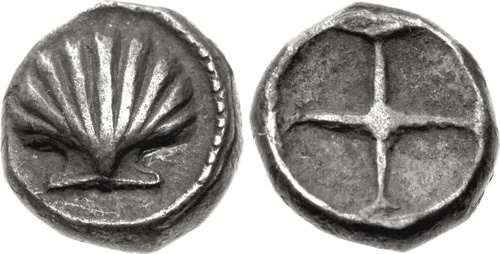 A litra from Taras. Images courtesy Classical Numismatic Group, NGC