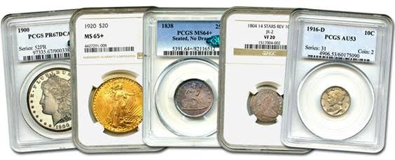 David Lawrence Rare Coins Internet Coin Auction #968 auction highlights