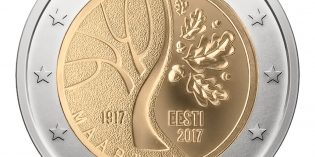 World Coins – Estonia Celebrates Independence with New 2 Euro Commemorative